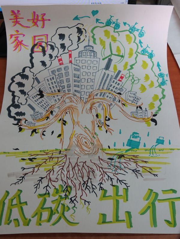 """""""低碳出行,迎青奥,建绿城""""海报设计作品展"""